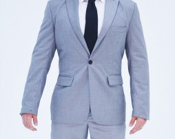Grey Suit DELUCA TUDDENHAM clothing line