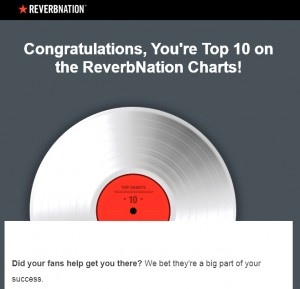 DELUCA TUDDENHAM TOP 10 reverbnation